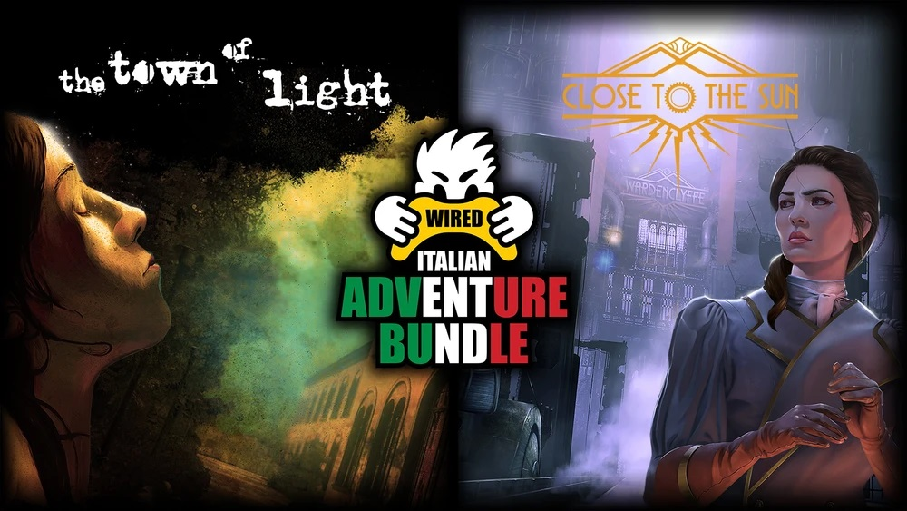 THE ITALIAN ADVENTURE BUNDLE IS NOW AVAILABLE
